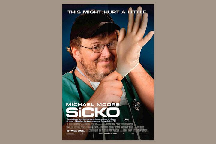 Кино на T&P: Майкл Мур о том, почему иногда проще лечиться дома, чем обращаться к врачам