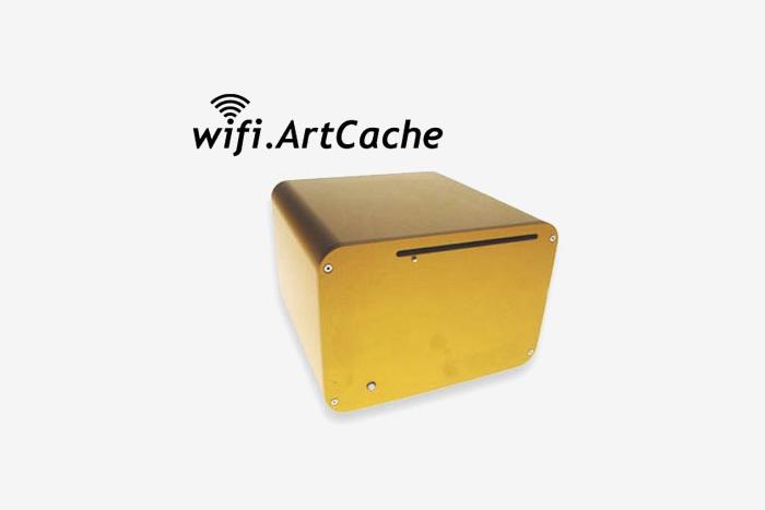Ил. 188. Джулиан Бликер. WiFi.ArtCache. 2003&nb...