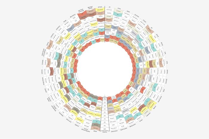 Находка T&P: мировая карта смертности