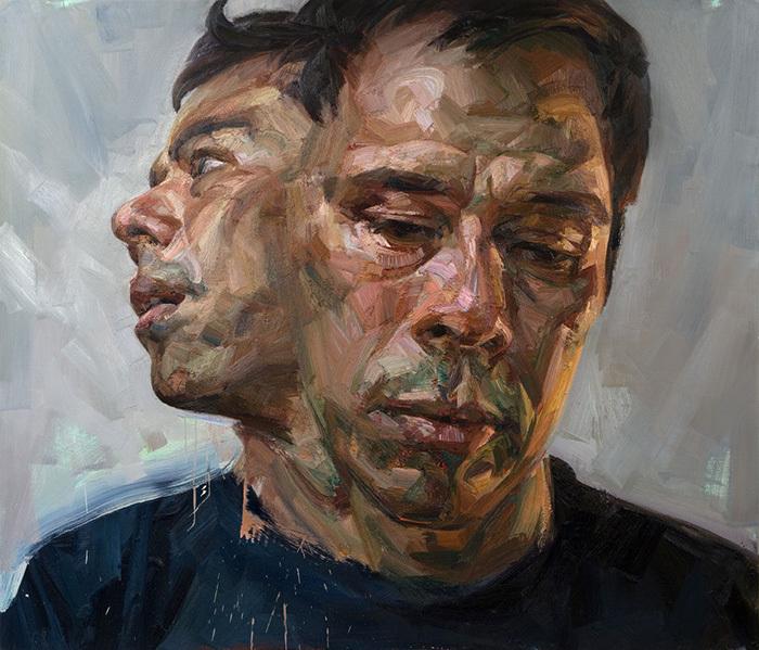 Tai Shan Schierenberg. Selfportrait as Janus. 2...