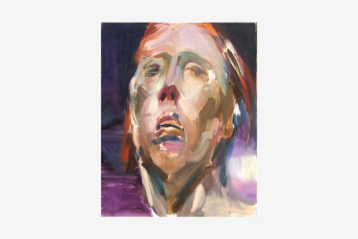 Магда Ульрих. Ночной автопортрет 3. 2008год