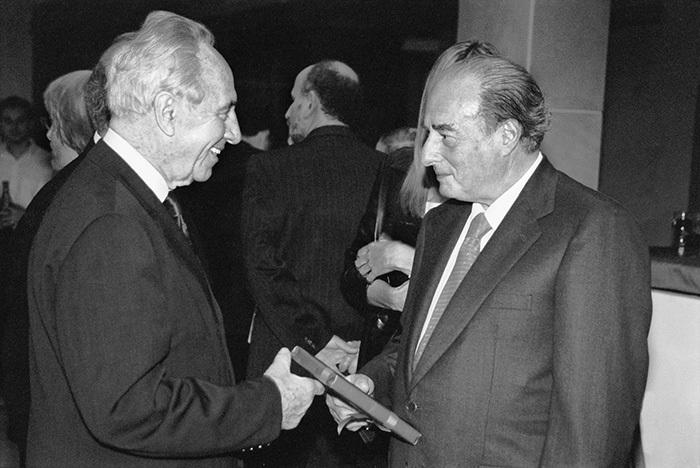 Марк Рич ибывший президент Израиля Шимон ...