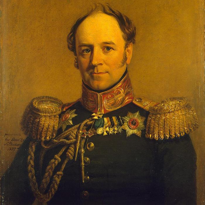 Джордж Доу. Портрет Александра фон Бенкендорфа....