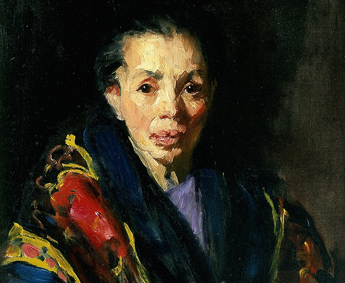 Роберт Генри. Старая испанка. 1911–1914годы