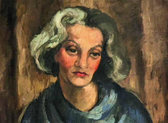 Амрита Шер-Гил. Госпожа Тахлицки. 1930год