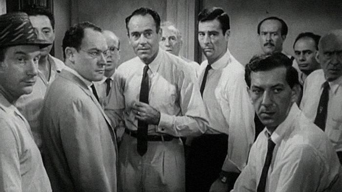 Кадр изфильма «12 разгневанных мужчин». 1...
