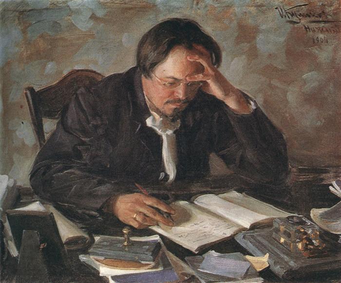 Портрет писателя Е.Н.Чирикова. Иван Кулик...