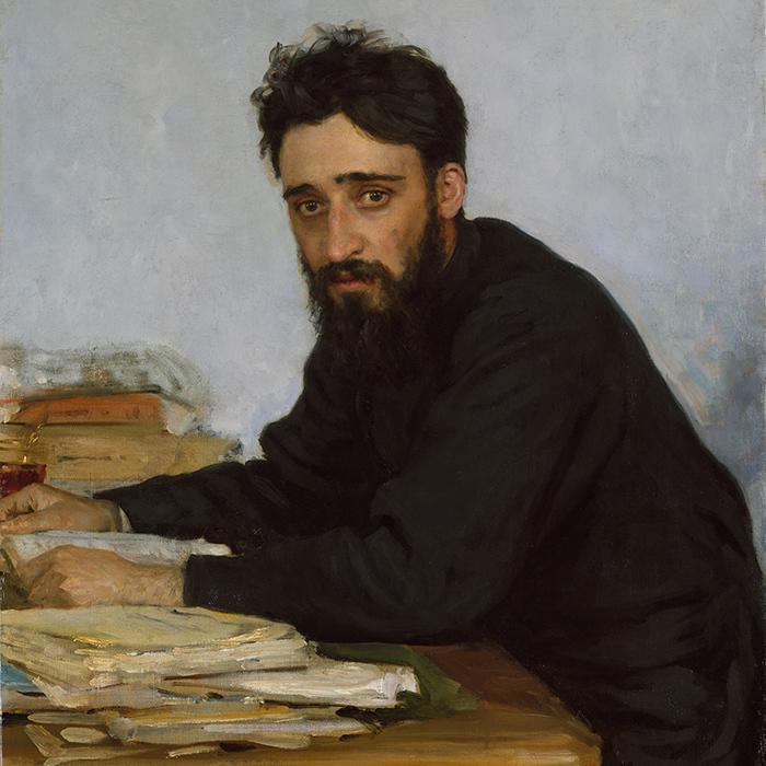 Портрет Всеволода Михайловича Гаршина (фрагмент...
