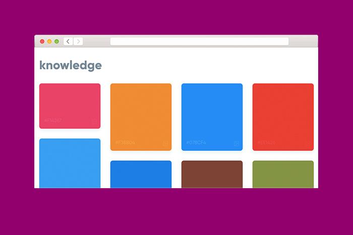 Находка T&P: поисковая система, которая подбирает цвета к словам