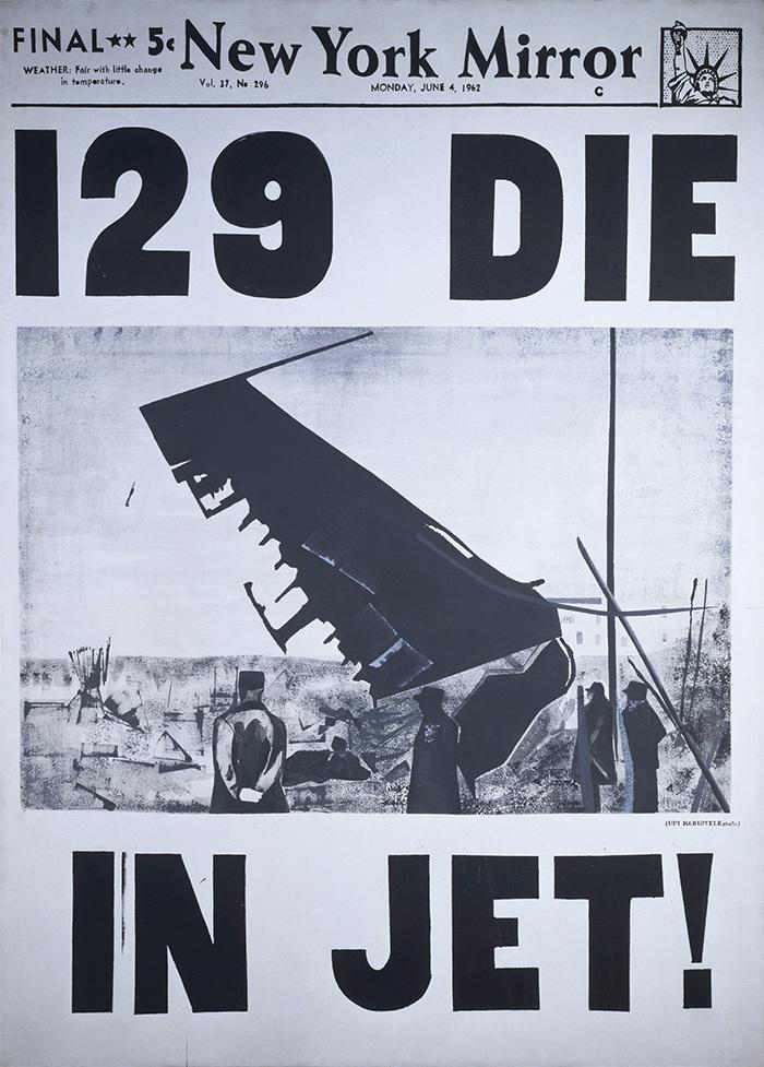 129 погибших всамолете! Энди Уорхол. 1962...