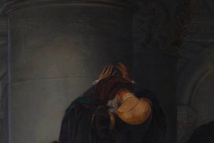Казнь Джейн Грей (фрагмент). Поль Деларош. 1833...