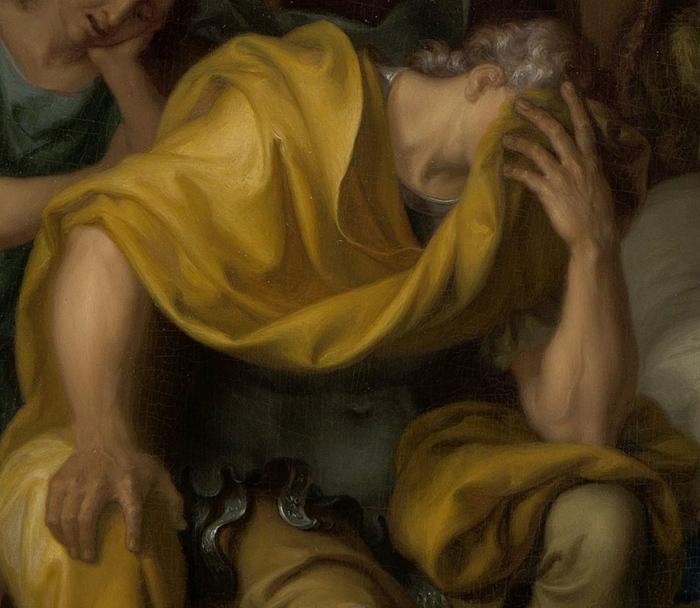 Смерть Эпаминонда (фрагмент). Исаак Вальварен. ...