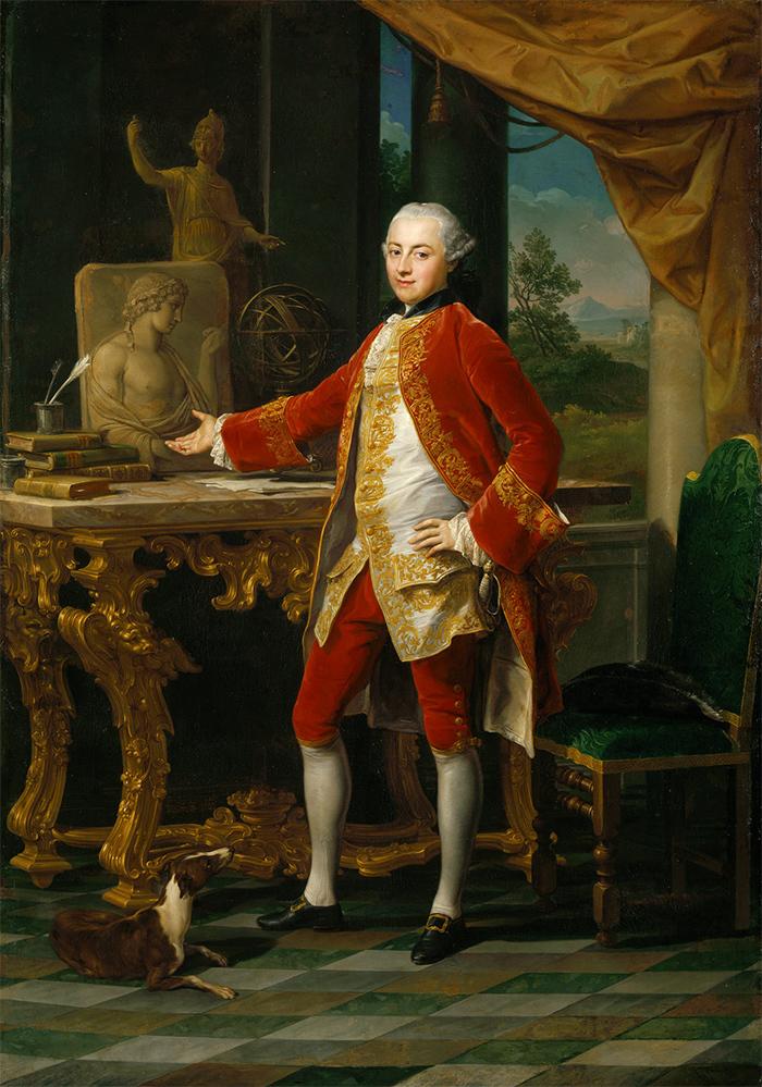 Портрет молодого человека. Помпео Батони. 1760-...
