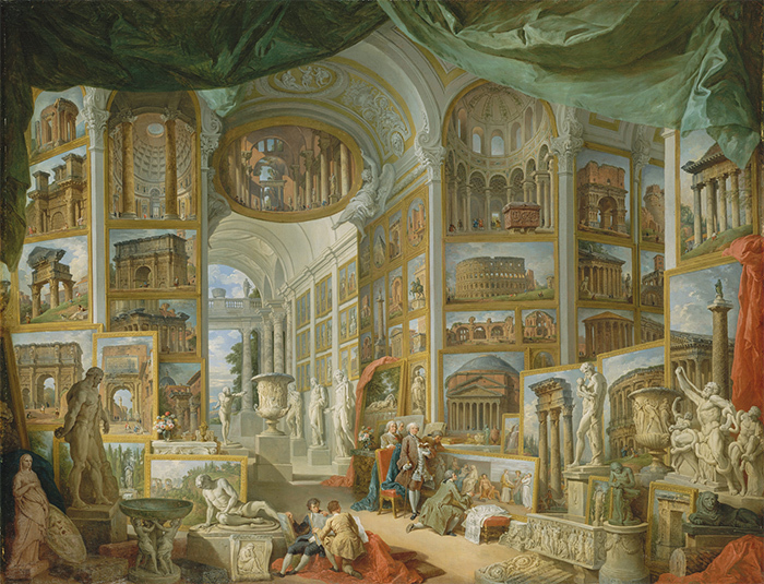 Древний Рим. Джованни Паоло Панини. 1757год
