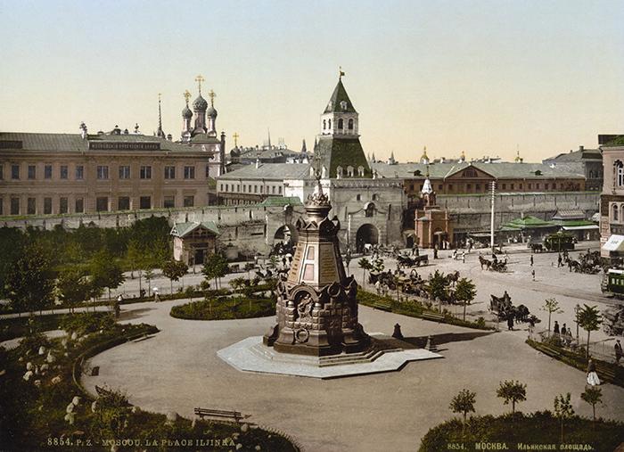 Памятник героям Плевны. Открытка. 1890-1905&nbs...
