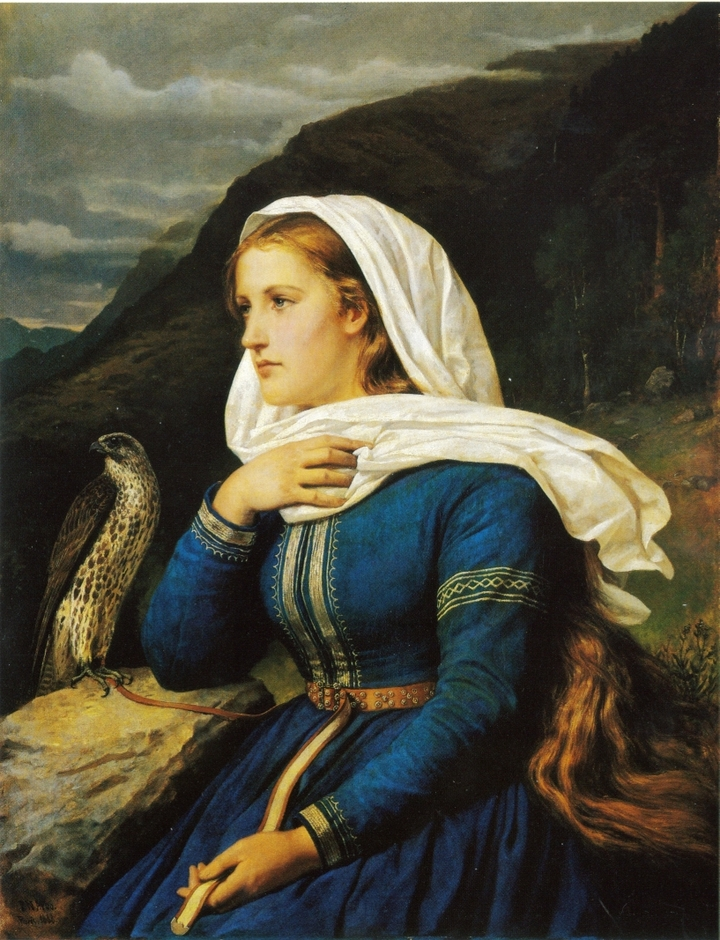 Ингеборг. Петер Николай Арбо. 1868год