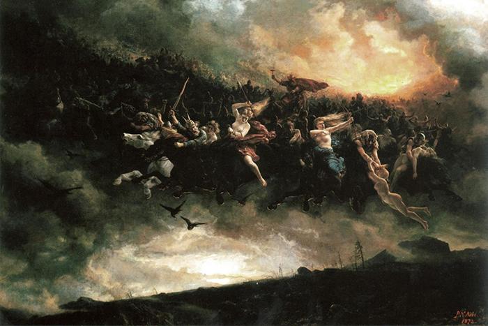 Я спросил у ясеня Иггдрасиля: как устроен мир германо-скандинавского эпоса