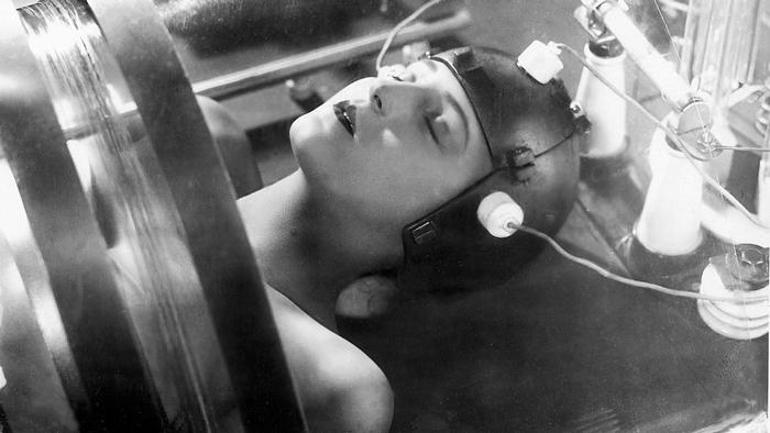 Кадр изфильма «Метрополис». 1927год