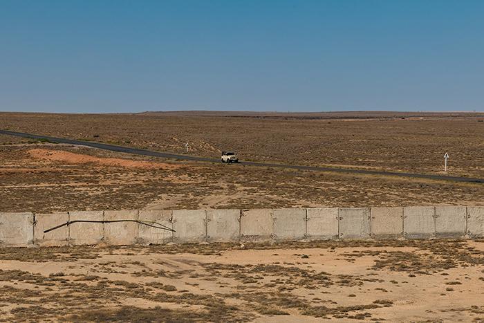 Окрестности космодрома Байконур, Казахстан