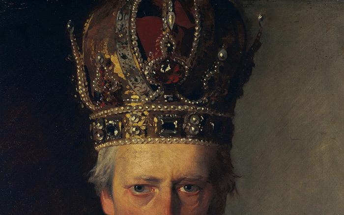 Император Австрии Франц I (фрагмент). Фридрих ф...