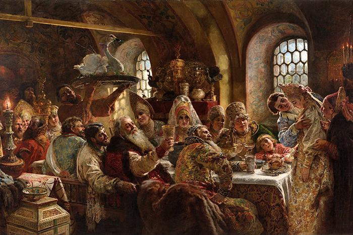 Лебяжье крыло, заячьи пупки и хамелеон: что и когда (не) ели на Руси