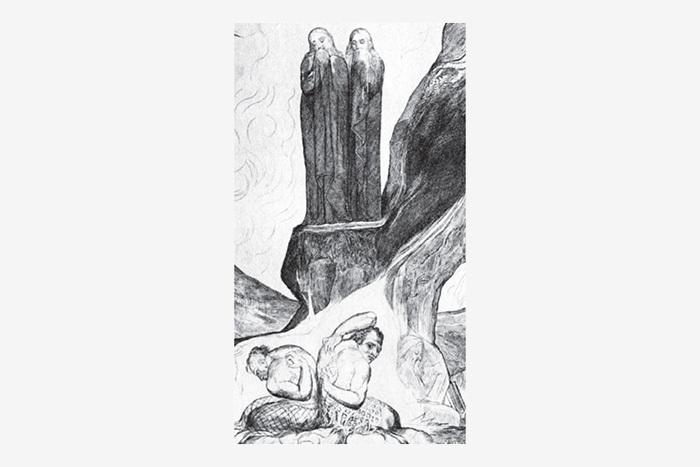 Наэтой иллюстрации Уильяма Блейка, выполн...