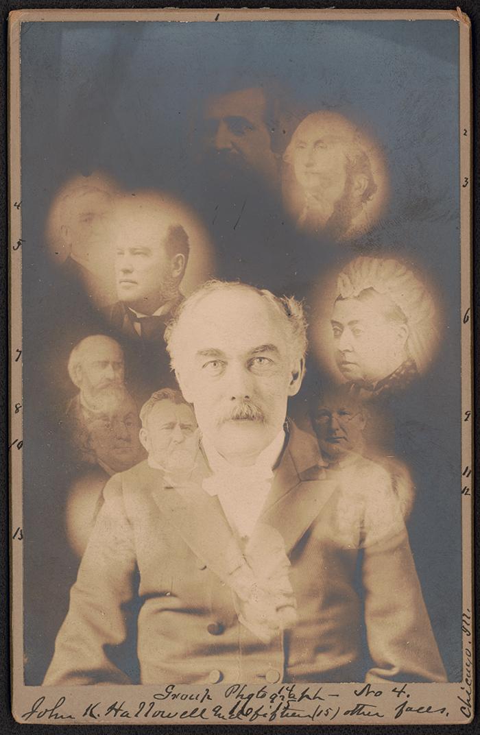 Изсерии фотографий оспиритуализме. ...