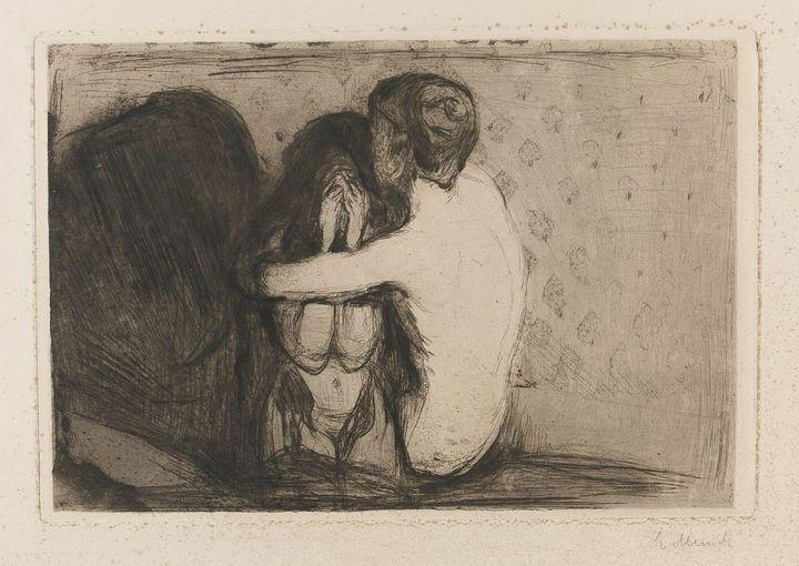 Утешение. Эдвард Мунк. 1894год
