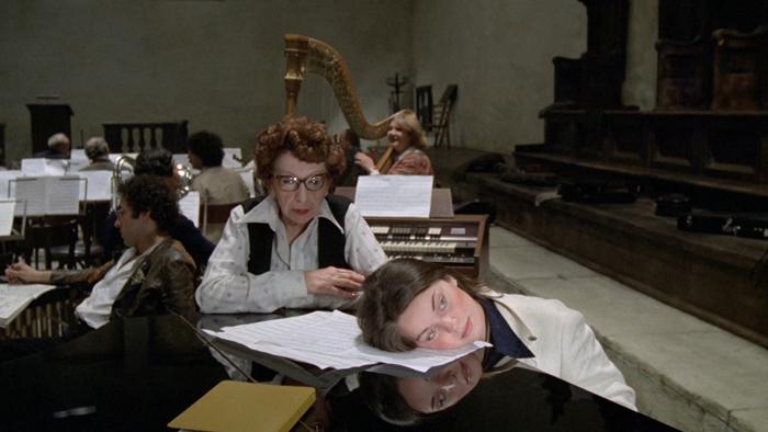 Кадр изфильма «Репетиция оркестра». 1978&...