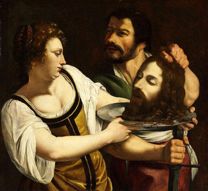 Саломея сголовой Иоанна Крестителя. Артем...