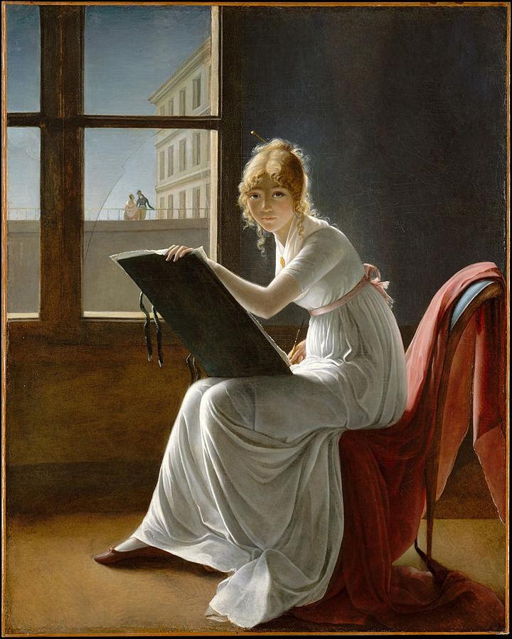 Портрет Шарлотты дю Валь д'Онье. Мари-Дениз...
