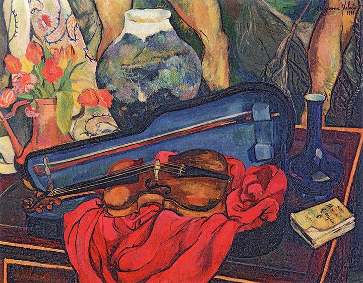 Чехол отскрипки. Сюзанна Валадон. 1923&nb...