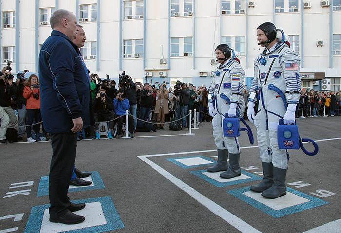 Алексей Овчинин иНик Гаг передвылет...