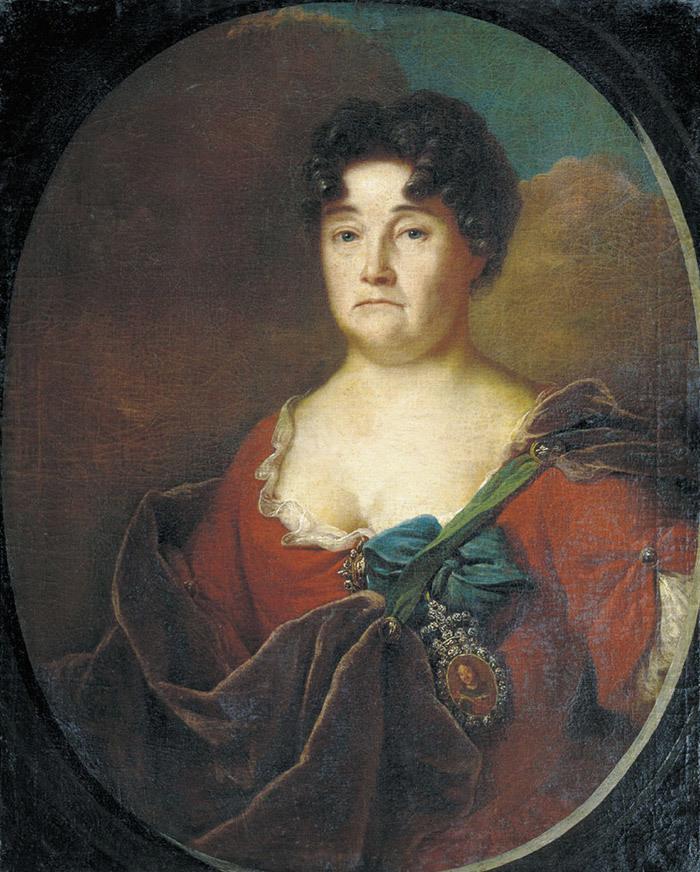 Портрет княгини Анастасии Петровны Голицыной, у...