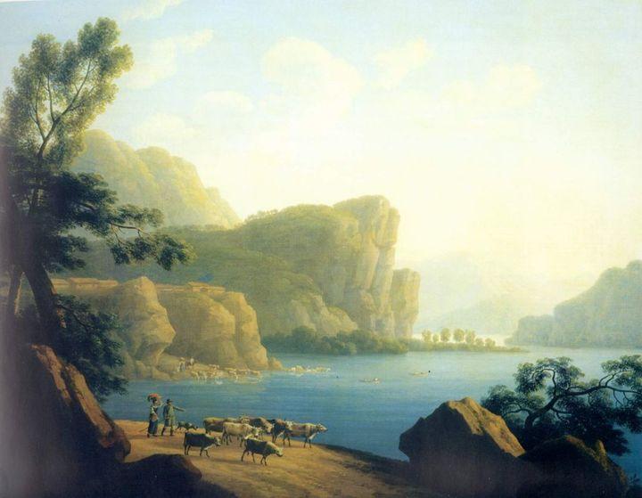 Вид реки Селенги вСибири. Андрей Мартынов...