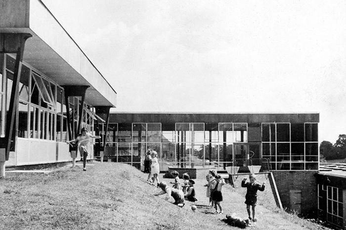 Alban Wood School, Watford. Архитекторы: Hertfo...