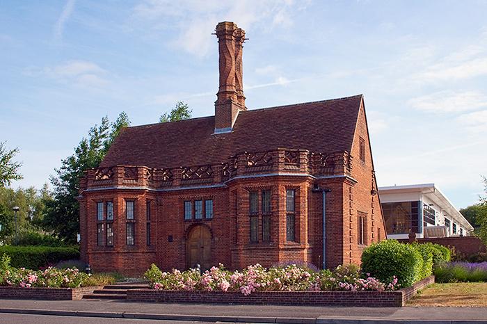 Edwin Lutyens Brickyard office designed for the...