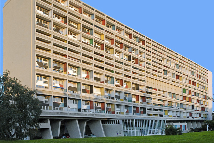 «Жилая единица» вМарселе. Архитектор Ле К...