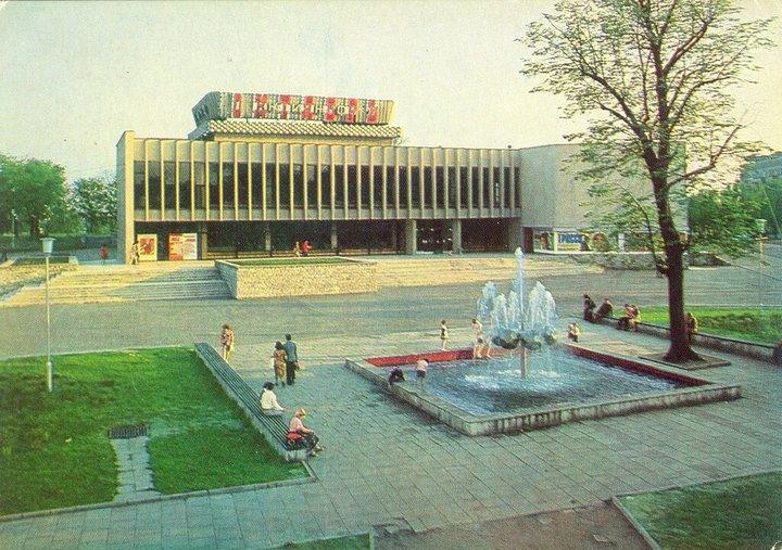Кинотеатр «Октябрь» вКалининграде. 1974&n...