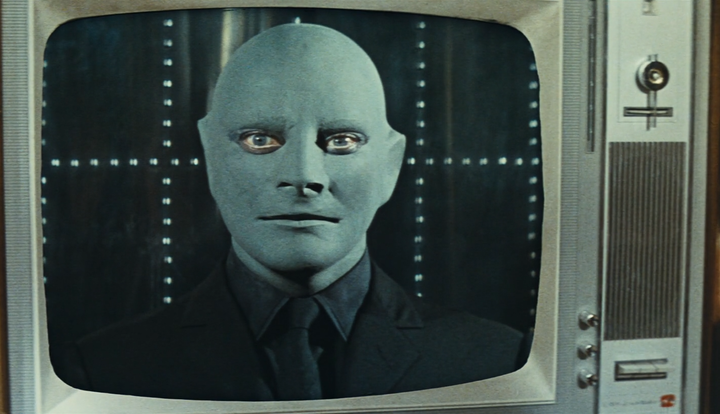 Кадр изфильма «Фантомас». 1964год