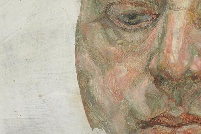 Портрет Фрэнсиса Бэкона (фрагмент). Люсьен Фрей...