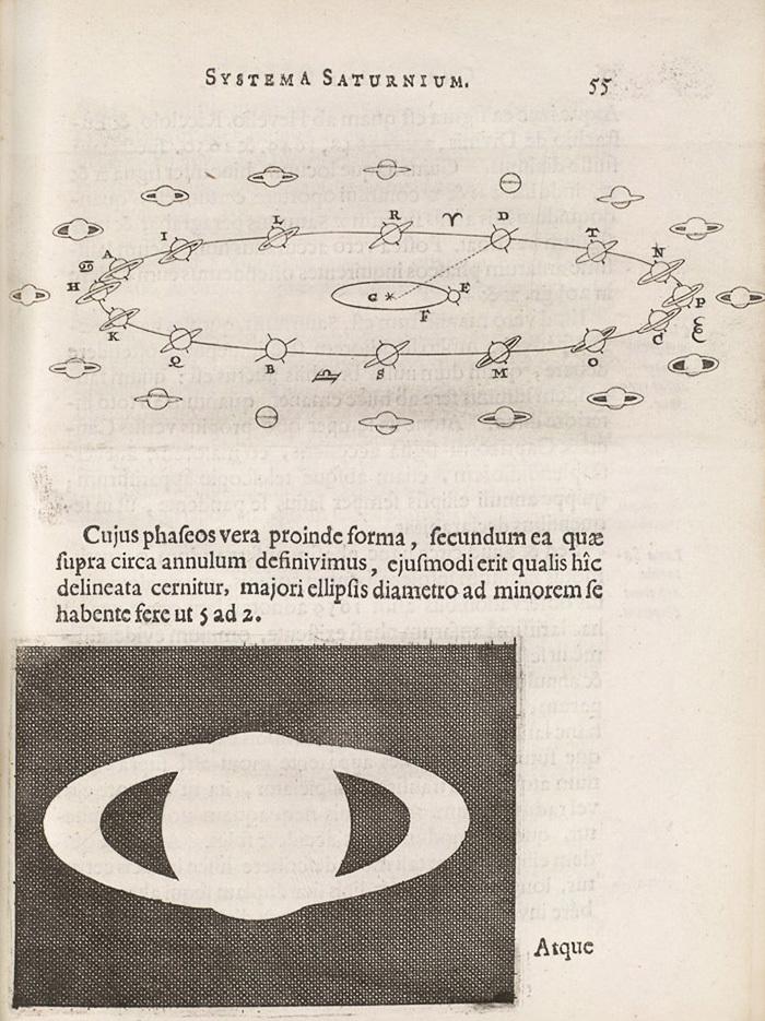 Systema Saturnium. Христиан Гюйгенс. Впервые из...