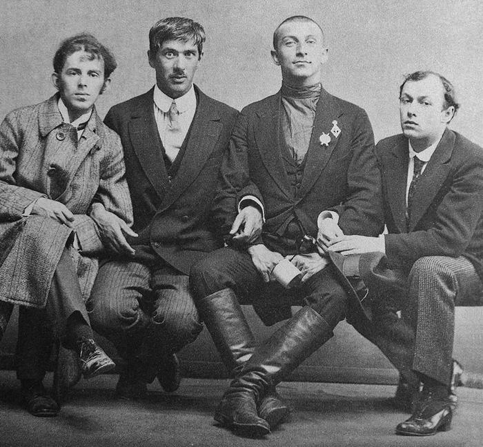 Мобилизация. О. Мандельштам, К. Чуковский, Б. Л...