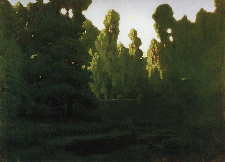 Лес. Архип Куинджи. 1890-ые годы