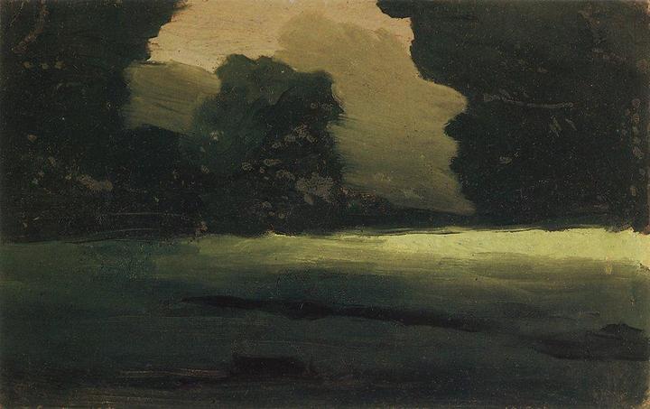 Поляна влесу. Туман. Архип Куинджи. 1908&...