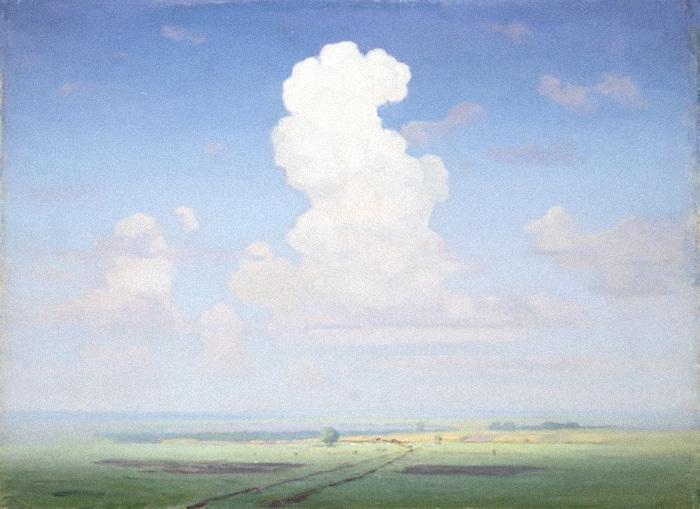 Облако надстепью. Архип Куинджи. 1890-ые ...