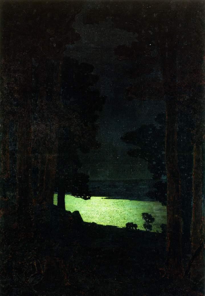 Ночь наДону. Архип Куинджи. 1882годы