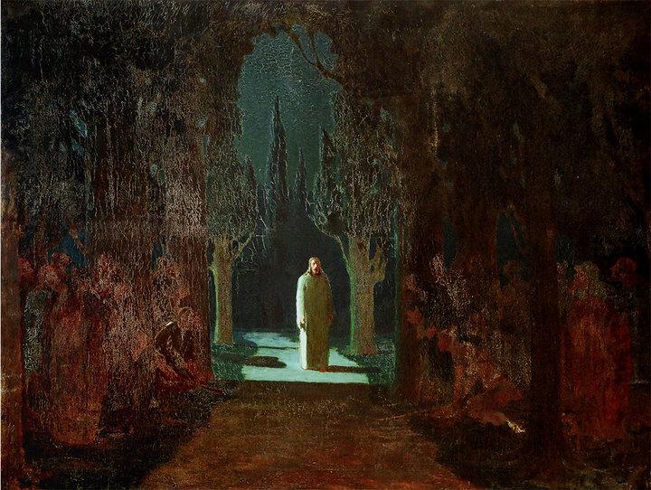 Христос вГефсиманском саду. Архип Куинджи...