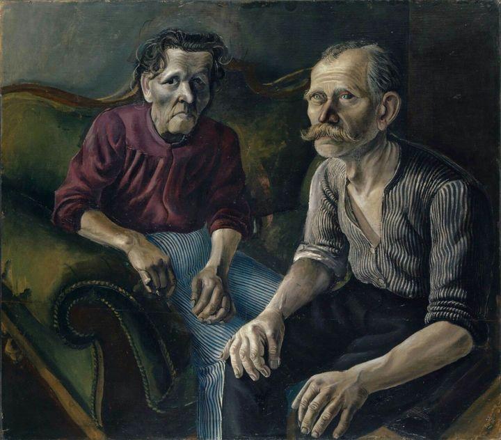 Родители. Отто Дикс.1921год