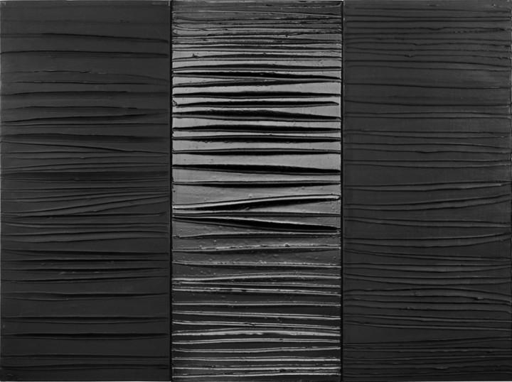 Триптих. Пьер Сулаж. 2009год